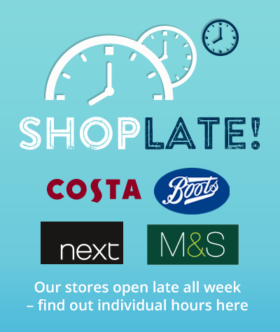 Shop late at Costa, Boots, Next and M&S